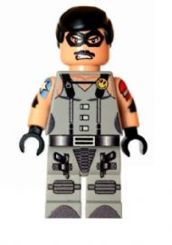 The Comedian (Eddie Blake - Watchmen) Grey - Custom Designed Minifigure